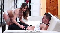HD - PureMature Sexy Rachel Roxx is giving blow...