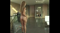 Awesome Skinny  Cute Girl with Booty Walking Naked Thumbnail