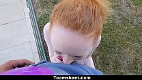 Image: CFNMTeens - Pale Redhead Fucked By The Swimming Coach