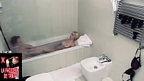 Blonde wants cock in the bathtub