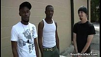 White Sexy Boy Fucked By Black Gay Muscular Dude 01