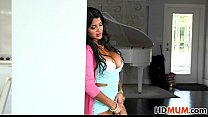 Bianka gives teaching sex lesson to Sarai thumb
