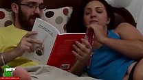 I'd like to be reading a book and my girl fucking me. SAN379 video