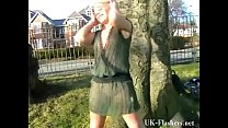 Welsh blonde nude Loz Lorrimars public masturbation and wild outdoor flashing Preview