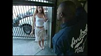 garage at gangbanged redhead and Blonde