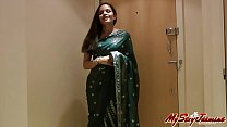Pretty Girl Jasmine in Sari strips to show us - download porn videos
