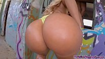 Horny Nick pounded Blondies fat pussy preview image