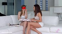 Henessy and Stella Cox in Christmas came late lesbian scene by Sapphic Erotica - download porn videos