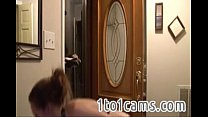 11993 Femdom girl and the pizza guy preview