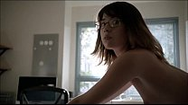 Nichole Bloom nude does doggy in Shameless video
