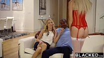 BLACKED Naomi Woods and Karla Kush First Interracial Threesome - 9Club.Top