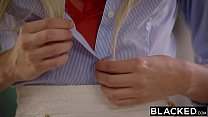 BLACKED Naomi Woods and Karla Kush First Interracial Threesome