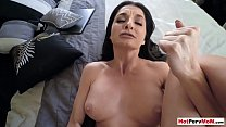 There is nothing better than fucking my busty MILF mom thumbnail