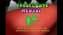 Guadeloupe Hentai swimming pool of sperm's Thumb