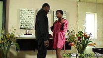 Black nuru masseuse rides Thumbnail
