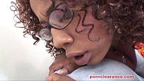 Misty Stone And Morning Star Pound Pussy thumb