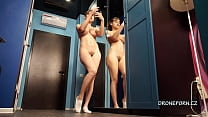 Emily Rose nude selfies at home. Czech home spy cam