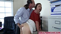 Anal queen Shyla Ryder rides a dick hard and good