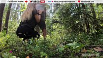 Pick up Young Baby Outdoors and Get Public Blowjob! صورة