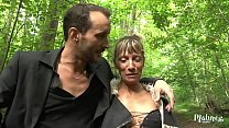 Shanael, libertine beurette likes to fuck in the forest