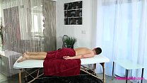 Redhead Masseuse Loves Her Client preview image