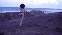 TEANNA TRUMP RU NNING ON BEACH NAKED IN MEXICO NAKED IN MEXICO