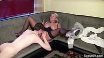 Small Young Men Lost Virgin by German Big Tit MILF Vorschaubild