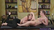 Angry ex wife tricked his lover into lesbian massage - download porn videos