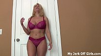 Stroke your cock for my big DD titties JOI pornhub video