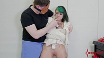 Image: Hot emo teen punished, exploited, and anally fingered by doctor