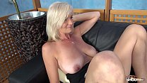 Image: Fakeshooting Blonde busty Mom can teach fake agent how to fuck