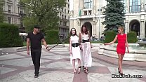 Public slaves whipped and fucked pornhub video