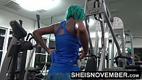 16134 Fuck In The Gym By A Stranger Anal & Blowjob Young Msnovember POV Public Sex preview