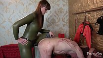 Nice and Deep Fucking - Pegging Session with Vivienne l'Amour