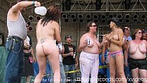 real women going wild at midwest biker rally preview image