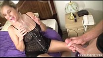 Blonde Milf Cum-Splattered