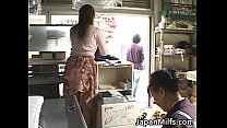 Horny japanese MILFS sucking and fucking preview image
