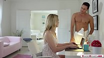 Sexy TS Lets Her Bf Bareback Her Wet Ass