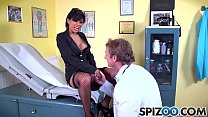 Spizoo - Big boorty Gabby Quinteros is punished by a big dick, big boobs