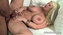 Big tit pornstar Alura Jenson loves big black cock thumb