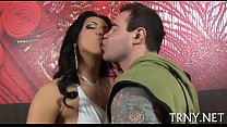 Cute ladyboy is brutally drilled