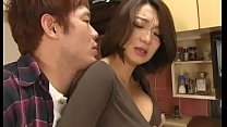 Screenshot Asian mom force d suck and titfuck in kitchen uck in kitchen