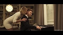 SEXART - Aria Logan Gets Fucked by the pianist Thumbnail