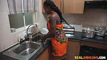 I cant wait to fuck her tight pussy over the kitchen counter