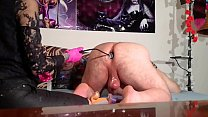 Beth Kinky - Sexy domina ass stretching for slave with toys pt2 HD