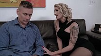Mommy crying for fucking son helps her - Reagan Lush