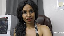 Desi hairy secretary pleases her boss role play preview image