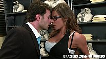 Madison Ivy's perfect ass gets split by her boss's cock's Thumb