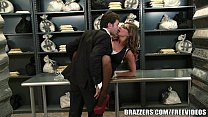 Madison Ivy's perfect ass gets split by her boss's cock thumbnail