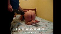 Hard Paddling and Caning for Nude Girlfriend Vorschaubild